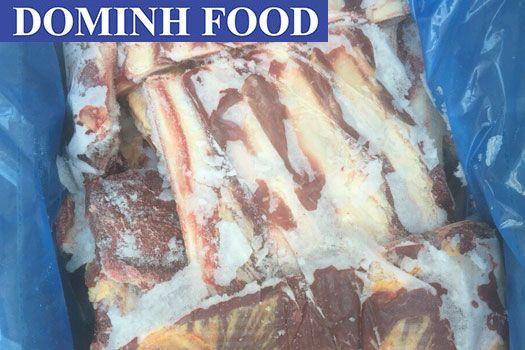 Các loại xương ống nguyên bộ, xương ống cắt, xương sườn bò Úc, chân bò Úc và xương ống bò Nga - DM03