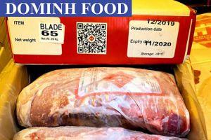 Thịt Trâu Ấn Độ Nhập Khẩu - 65 Blade